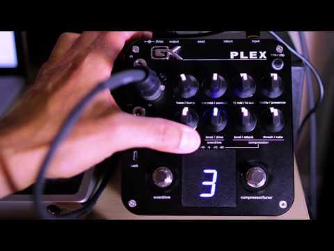 Gallien Krueger GK PLEX Preamp Pedal Sound Demo