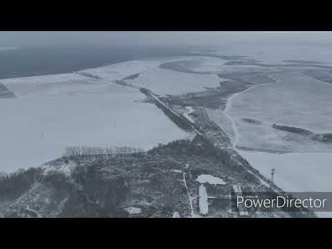 Шацк Рязанская область с высоты птичьего полета.