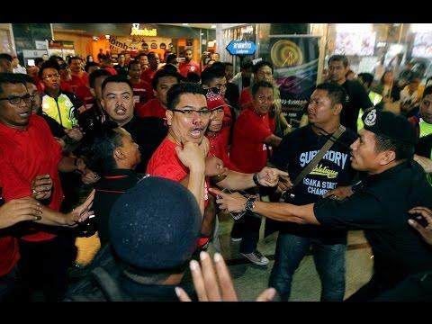 Jamal's nose bloodied in Ampang