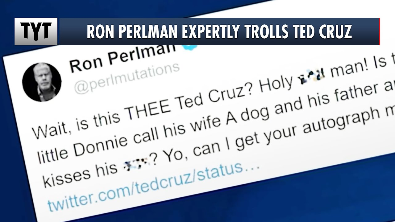 The Ron Perlman - Ted Cruz Twitter beef (and what it has to do with ...