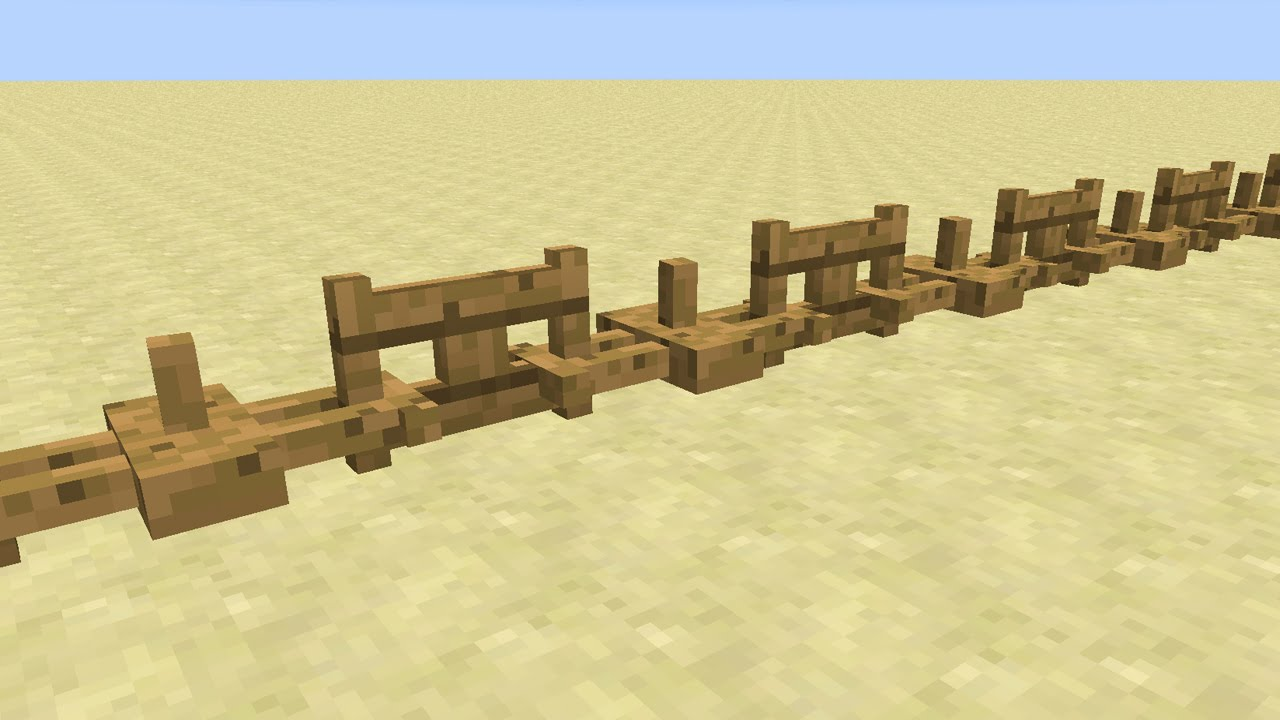 how to build an armour stand minecraft
