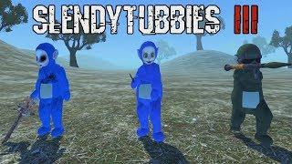 SLENDYTUBBIES 3 UPDATED VERSION 1.29 |  3 NEW CHARACTERS ADDED AND MUCH MORE