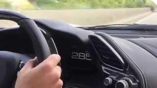 Ferrari 488 GTB 341 kmh Autobahn