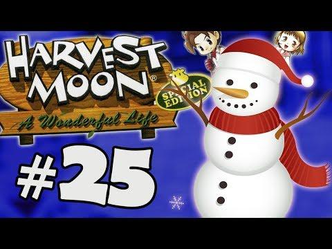 A CHEGADA DO INVERNO! - Harvest Moon: A Wonderful Life #25