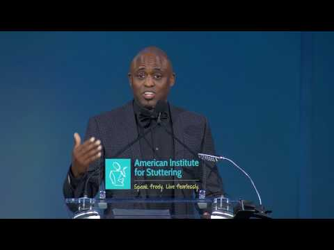 Wayne Brady Honored at American Institute for Stuttering Gala, 2017