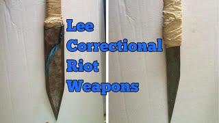 Huge Shanks Used in Lee Correctional Institution Riot!