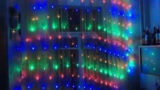 Светодиодная гирлянда сетка влагозащищенная 2x3m RGBY(Купить: www.disconight.ru., 2015-12-05T18:08:21.000Z)