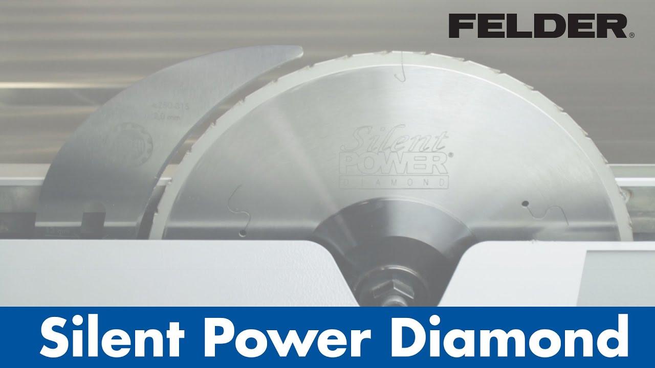 Felder silentpower diamond saw blade youtube felder silentpower diamond saw blade greentooth Choice Image