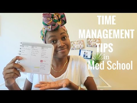 Time Management Tips in Medical School | How I Manage My Time