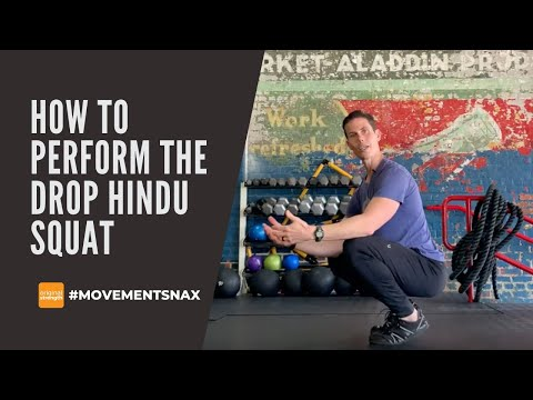How to Perform the Drop Hindu Squat