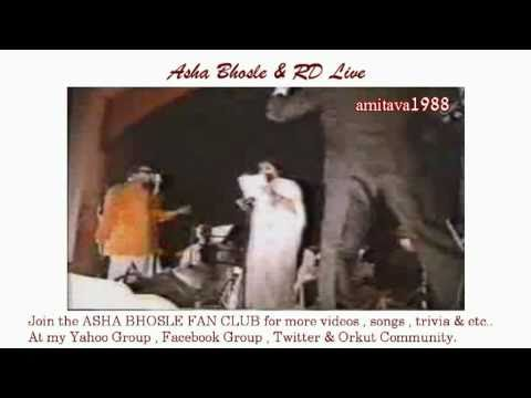 Asha Bhosle & RD Burman Live Video