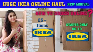 IKEA INDIA ONLINE SHOPPING HAUL STARTS ONLY RS-19/ HOW TO ORDER ONLINE/IKEA NEW ARRIAVLE #ikea#india