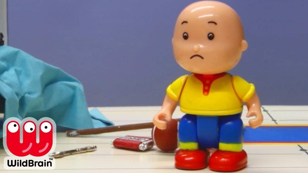 Teletubbies Full Animation Caillou Cleans Room Stop Motion Hd