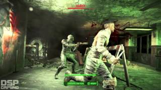 Fallout 4 playthrough pt6 - To the Rescue! 1st REAL Combat is BRUTAL!