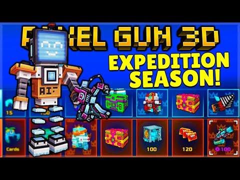 Pixel Gun 3D | EXPEDITION Season Battle Pass + 11 NEW Weapons Added!