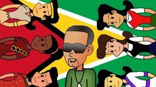 Ich bin ein Guyanese Cartoon-Version