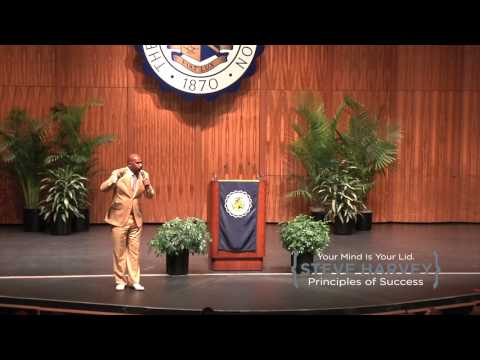 Steve Harvey's First Motivational Speech Live
