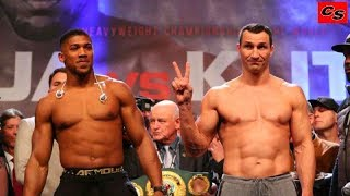 Anthony Joshua vs. Wladimir Klitschko. Highlights fight