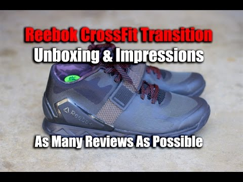 Reebok CrossFit Transition Covert Unboxing   First Impressions - Best CrossFit  Shoes 22153f4a9