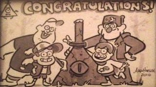 Gravity Falls: Mystery of the Bill Cipher Statue - #CipherHunt STATUE FOUND!