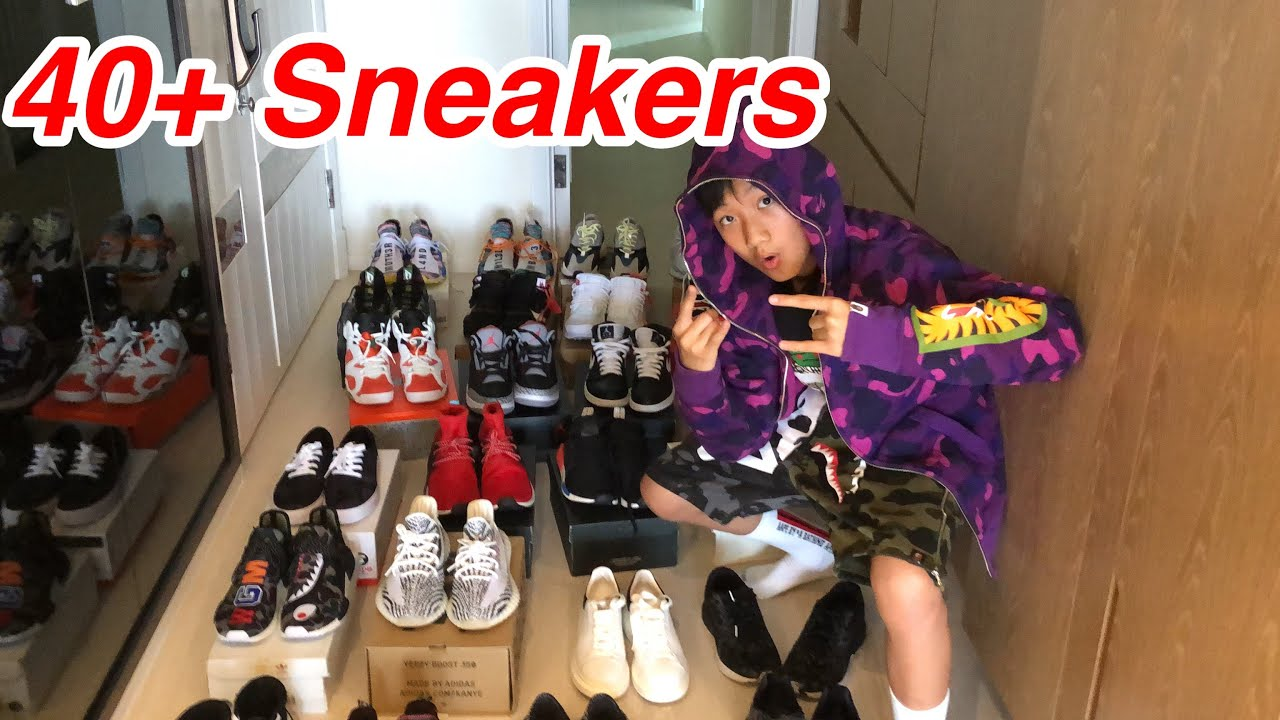 brand new c8935 16ca2 MY ENTIRE HYPEBEAST SNEAKER COLLECTION 2018!!! (YEEZY + HUMAN RACE +  OFFWHITE) #Sneaker #hypebeast