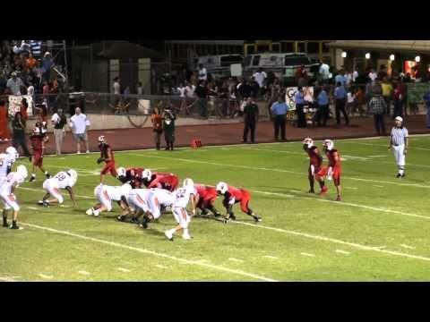 HHS BRYAN BLAKE CARDINAL FOOTBALL 2010 VS HAWKS