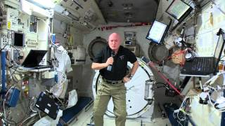 Astronaut Scott Kelly Calls Yanni - Pyramids in Egypt