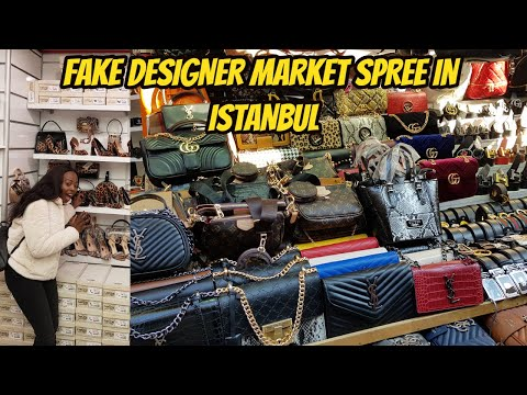 Istanbul Fake Designer Market Spree Near Grand Bazaar 2020 | Africans Doing Business In Turkey