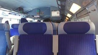 Inside TGV Duplex Paris - Frankfurt