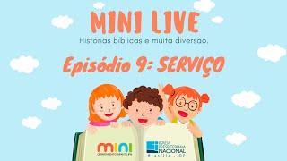 MINI LIVE IPNONLINE Episódio 9: Serviço (Lic. Davi Medeiros) - 30/04/2020