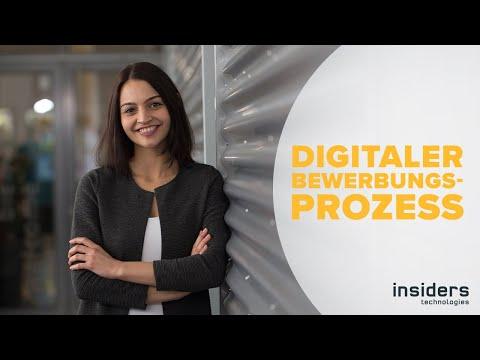 Digitaler Bewerbungsprozess