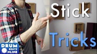 2 Easy Stick Tricks - Drum Lesson   Drum Beats Online