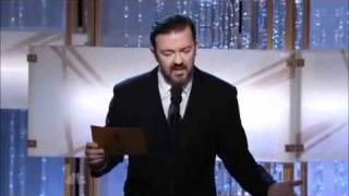 Ricky Gervais owns Bruce willis
