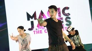 """แอบส่อง """"เจมส์ จิ"""" ที่ห้องซ้อมเต้น MAGIC JAMES THE CONCERT"""