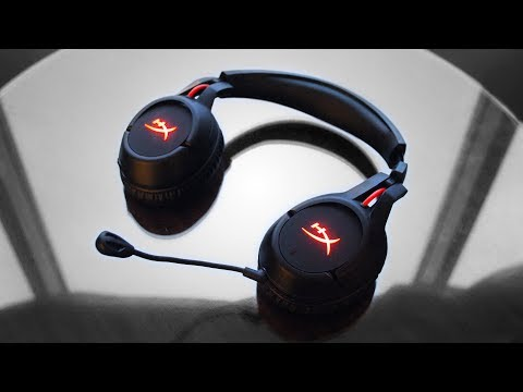 HyperX Cloud Flight - Their First Wireless Gaming Headset!