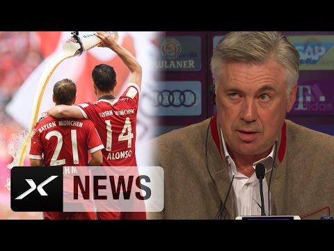 "Carlo Ancelotti: ""Bedanke mich bei Philipp Lahm und Xabi Alonso"" | FC Bayern München"