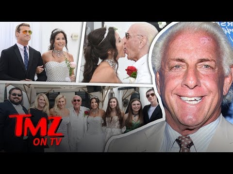 Ric Flair Gets Married For The 5th Time! | TMZ TV
