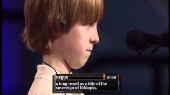 Awesome Spelling Bee!  negus - n. - a king - used as a title of the sovereign of Ethiopia (synched)