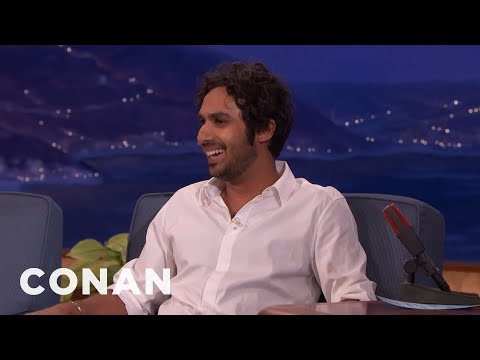 Thumbnail: Kunal Nayyar Had A Panic Attack When He Met The Queen - CONAN on TBS