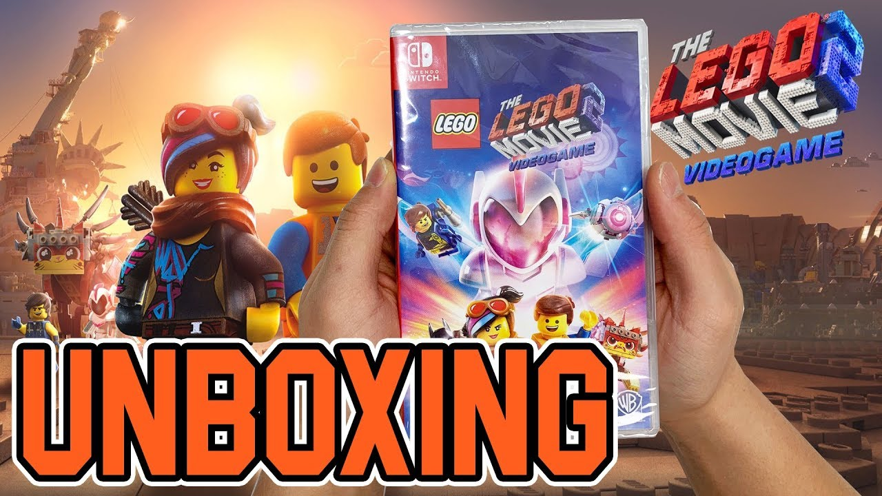 Lego Movie 2 Second Part Videogame Nintendo Switch Unboxing Youtube