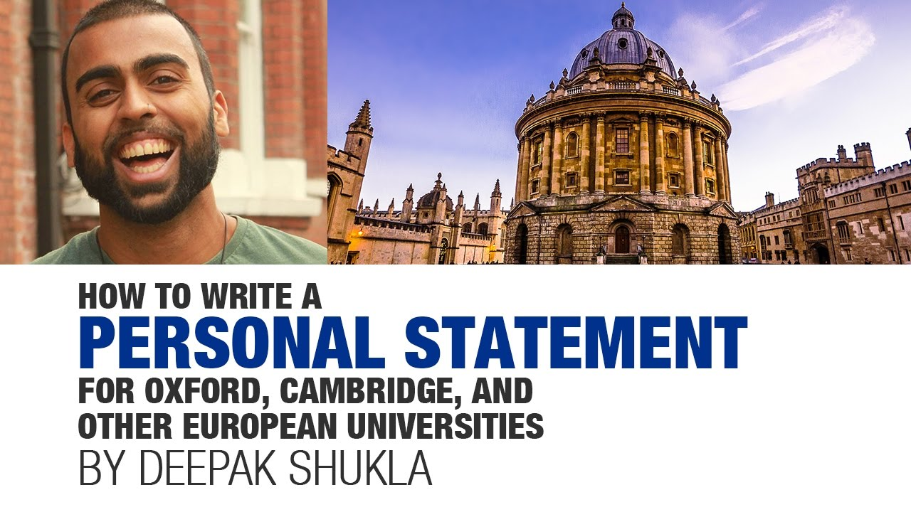 oxford uniq personal statement advice Receive current advice on all aspects of oxford admissions speak with current oxford university students and uniq participants with similar interests gain the tools.