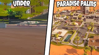 *NEW EASY* HOW TO GET UNDER PARADISE PALMS AFTER PATCH | FORTNITE BR GLITCH