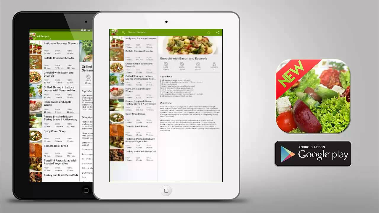 Quick and healthy food recipes android application youtube quick and healthy food recipes android application forumfinder Image collections