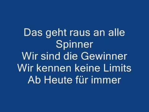 Revolverheld  Spinner  Lyrics