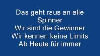 Revolverheld  Spinner  Lyrics