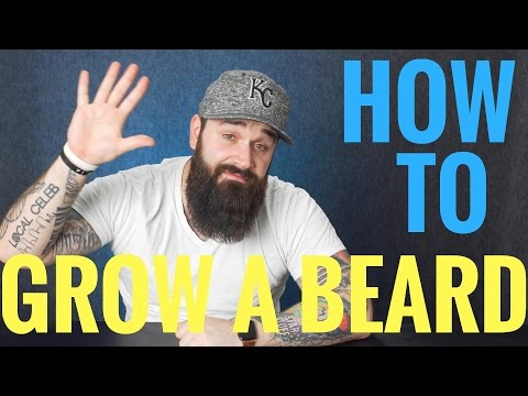 How to grow a beard | 5 Things EVERY beginner should know!!