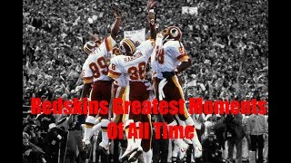 Washington redskins greatest moments of all time part 1 ᴴᴰ