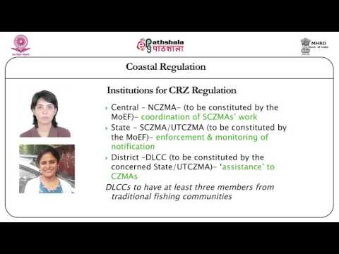 Coastal regulation (LAW)