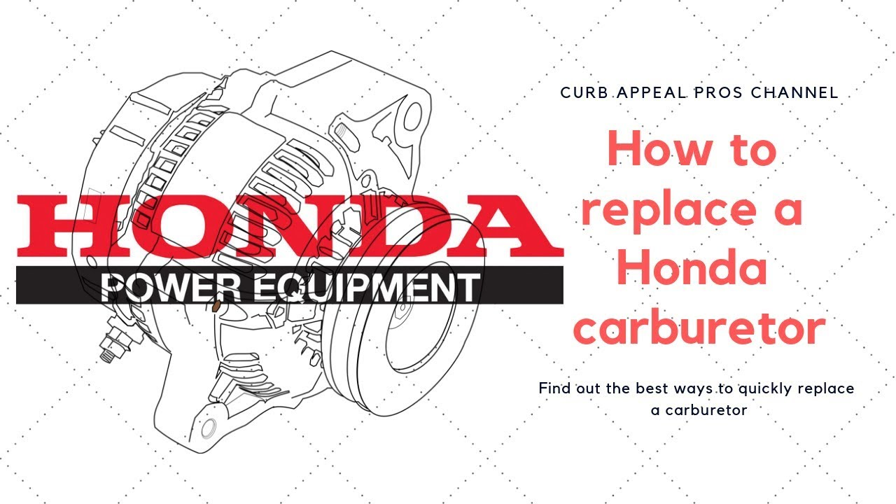 hight resolution of how to replace a carburetor on a honda gx690