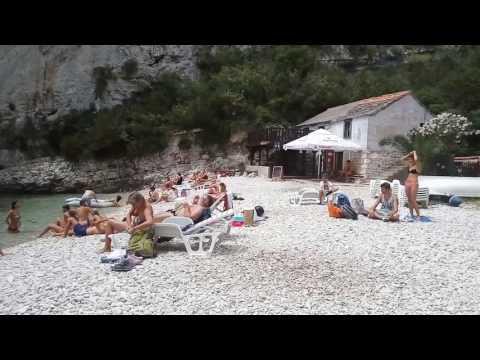 Stiniva Beach, Island Vis (Croatia) - Best beach in Europe | Plaža Stiniva